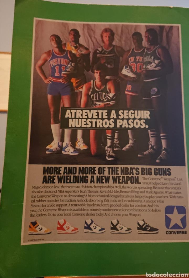 Coleccionismo deportivo: Álbum cromos baloncesto 88, incompleto con dos cromos Michael Jordan, - Foto 2 - 256021855