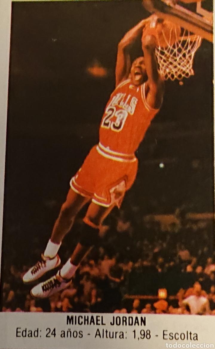 Coleccionismo deportivo: Álbum cromos baloncesto 88, incompleto con dos cromos Michael Jordan, - Foto 4 - 256021855