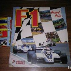 Coleccionismo deportivo: F1 GRAND PRIX - ALBUM DE CROMOS VACIO + LOTE COMPLETO CROMOS NUEVOS NUNCA PEGADOS (PANINI 1980). Lote 257448340