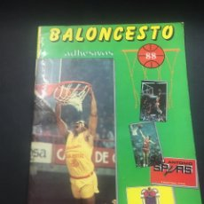 Coleccionismo deportivo: BALONCESTO 88 J. MARCHANTE ALBUM. Lote 258830415