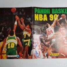 Coleccionismo deportivo: PANINI - BASKET NBA 90 - ALBUM NO COMPLETO - 2 CROMOS MICHAEL JORDAN. Lote 259943390