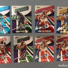 Coleccionismo deportivo: TOPPS FINEST 2003/04 NBA TRADING CARDS. Lote 261123830