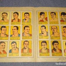 Coleccionismo deportivo: ALBUM DE BOXEADORES NUM 2 - COMPLETO !!!!! EDT VALENCIANA 1941, PRIMO CARNERA, MAX BAER, MAX SCHMELI. Lote 261188795
