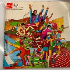 Collezionismo sportivo: ALBUM CROMOS O TRANSPARENCIAS MONTREAL 1976 COCA-COLA. CON LAS GAFAS VISORAMA. Lote 261570750