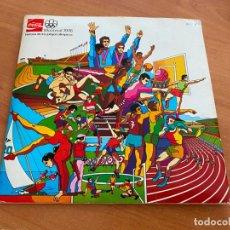 Coleccionismo deportivo: ALBUM CON 54 CROMOS HISTORIA DE LOS JUEGOS OLIMPICOS MONTREAL 1976 COCA COLA (COIB119). Lote 261669375