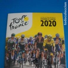 Collezionismo sportivo: ALBUM VACIO DE CICLISMO TOOR DE FRANCIA 2020 DE PANINI. Lote 262328210