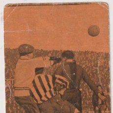 Coleccionismo deportivo: FOOT-BALL. CAMPEONATO DE ESPAÑA 1923-1924. Nº 27. BARCELONA-SPORTING DE GIJÓN. Lote 262682425