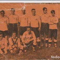 Coleccionismo deportivo: FOOT-BALL. CAMPEONATO DE ESPAÑA 1923-1924 Nº 1. REAL UNIÓN DE IRÚN. Lote 262682460