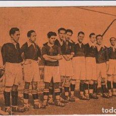 Coleccionismo deportivo: FOOT-BALL. CAMPEONATO DE ESPAÑA 1923-1924. Nº 10. LA REAL SOCIEDAD ATLÉTICA STADIUM. PUBLICIDAD DE C. Lote 262682465