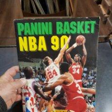 Collezionismo sportivo: ÁLBUM CROMOS NBA 90 PANINI BASKET COMPLETO 2 CROMOS MICHAEL JORDAN LARRY BIRD. Lote 262894085