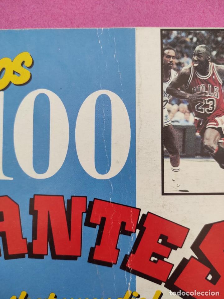 Coleccionismo deportivo: COLECCION COMPLETA SIN PEGAR ALBUM VACIO 100 CROMOS GIGANTES BASKET MUNDIAL 1989 NBA JORDAN STICKERS - Foto 27 - 262929470