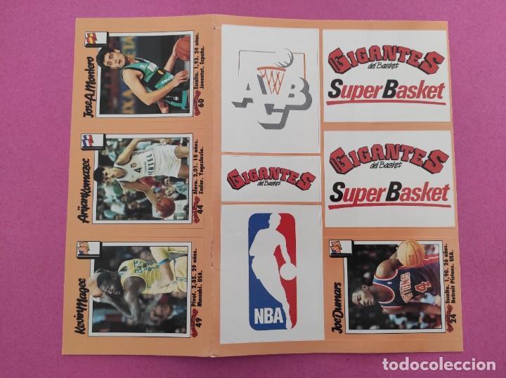 Coleccionismo deportivo: COLECCION COMPLETA SIN PEGAR ALBUM VACIO 100 CROMOS GIGANTES BASKET MUNDIAL 1989 NBA JORDAN STICKERS - Foto 25 - 262929470