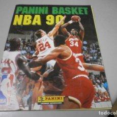 Coleccionismo deportivo: ALBUM PANINI BASKET NBA 90 VER FOTOS DE TODAS LAS HOJAS. Lote 262997880