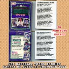 Coleccionismo deportivo: BASEBALL 52 CARTAS DE JUEGO ROOKIES 1993. Lote 263096180