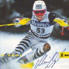 Coleccionismo deportivo: ALOIS VOGL (10X15) CM ORIGINAL AUTOGRAHED PHOTO. Lote 263099735