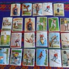Coleccionismo deportivo: LOTE 23 CROMO LOS JUEGOS OLÍMPICOS. ÁLBUMES NESTLÉ 1964.. Lote 263180355