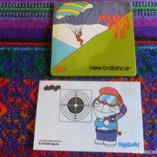 Coleccionismo deportivo: DOKYO DORAEMON Nº 28 TIRO OLÍMPICO BOLLYCAO Y PARAPENTE WEW BALANCE RUFFLES. BUEN ESTADO.. Lote 263207590