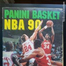 Collezionismo sportivo: ÁLBUM CROMOS 100% COMPLETO PANINI BASKET NBA 90 M. JORDAN 1990 BALONCESTO. Lote 264070580