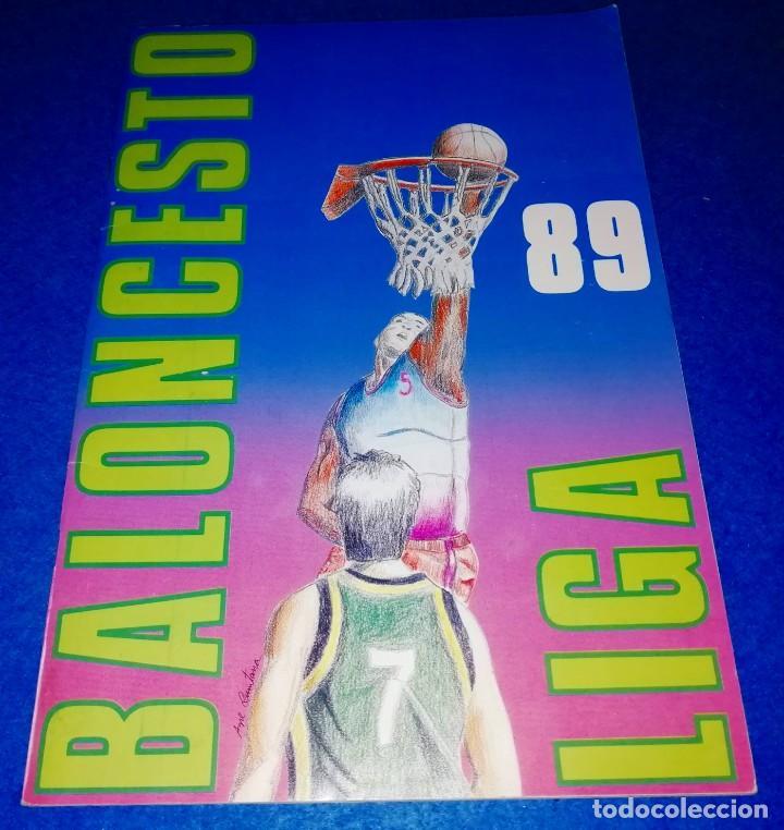 ALBUM CROMOS BALONCESTO LIGA 1989 EDITORIAL MERCHANTE --- (BOX10) (Coleccionismo Deportivo - Álbumes otros Deportes)