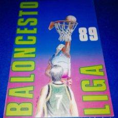Coleccionismo deportivo: ALBUM CROMOS BALONCESTO LIGA 1989 EDITORIAL MERCHANTE. Lote 266400568