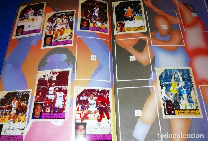 Coleccionismo deportivo: ALBUM CROMOS BALONCESTO LIGA 1989 EDITORIAL MERCHANTE --- (BOX10) - Foto 3 - 266400568