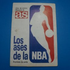 Collezionismo sportivo: ALBUM COMPLETO DE BALONCESTO BASKET LOS ASES DE LA NBA AÑO 1989 DE AS ROOKIE MICHAEL JORDAN. Lote 266811374