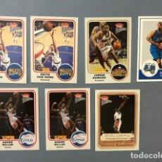 Coleccionismo deportivo: FLEER PLATINUM 2002/03 NBA TRADING CARDS LOTE. Lote 267030964
