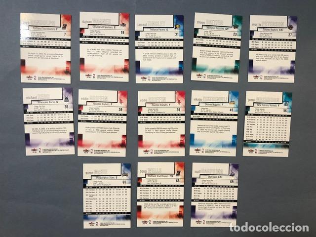 Coleccionismo deportivo: FLEER MYSTIQUE 2003/04 NBA TRADING CARDS LOTE - Foto 2 - 267298759