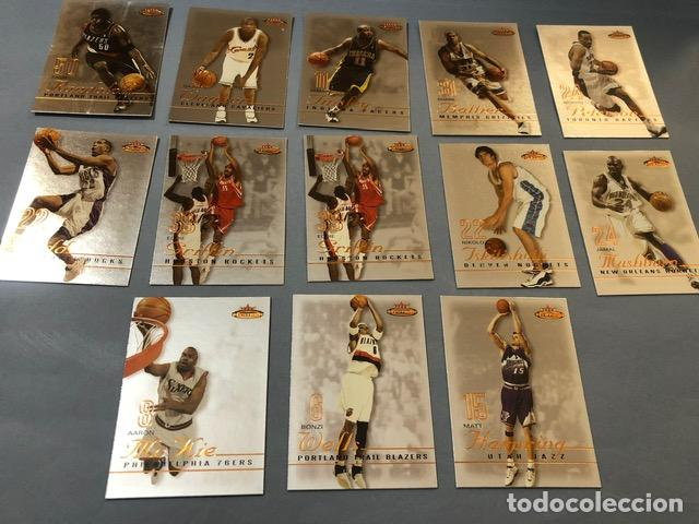 FLEER MYSTIQUE 2003/04 NBA TRADING CARDS LOTE (Coleccionismo Deportivo - Álbumes otros Deportes)