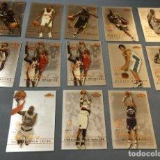 Coleccionismo deportivo: FLEER MYSTIQUE 2003/04 NBA TRADING CARDS LOTE. Lote 267298759