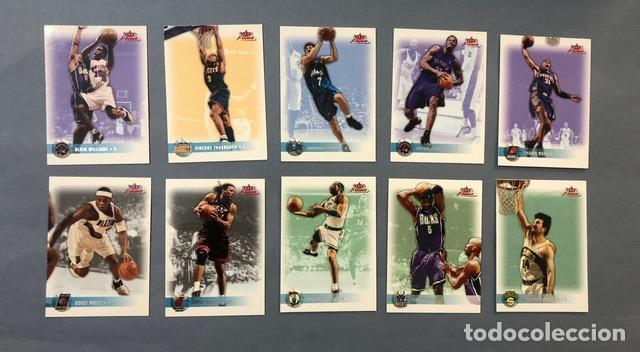 FLEER FOCUS 2003/04 NBA TRADING CARDS LOTE (Coleccionismo Deportivo - Álbumes otros Deportes)