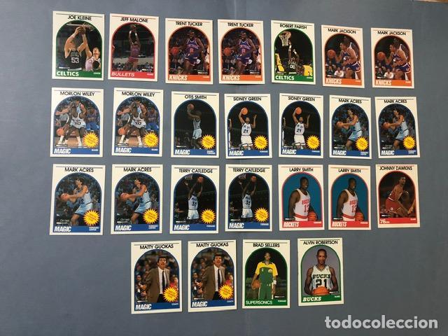HOOPS 1989/90 NBA TRADING CARDS LOTE (Coleccionismo Deportivo - Álbumes otros Deportes)