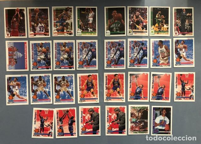 HOOPS 1992/93 NBA TRADING CARDS LOTE (Coleccionismo Deportivo - Álbumes otros Deportes)