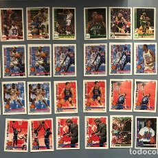 Coleccionismo deportivo: HOOPS 1992/93 NBA TRADING CARDS LOTE. Lote 267300049