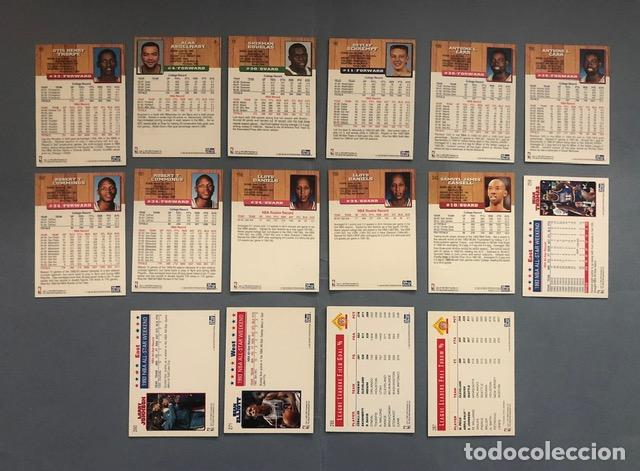 Coleccionismo deportivo: HOOPS 1993/94 SERIE GOLD NBA TRADING CARDS LOTE - Foto 2 - 267301284
