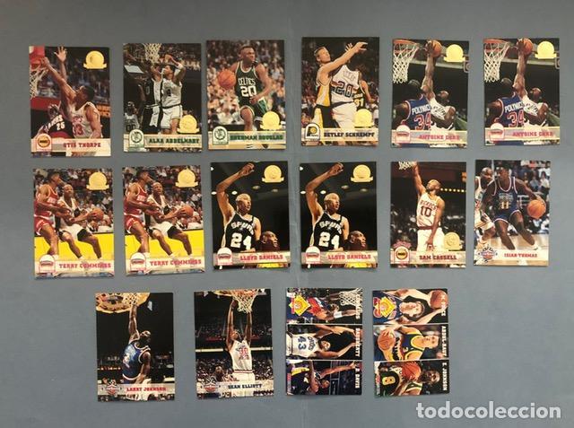 HOOPS 1993/94 SERIE GOLD NBA TRADING CARDS LOTE (Coleccionismo Deportivo - Álbumes otros Deportes)