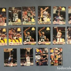 Coleccionismo deportivo: HOOPS 1993/94 SERIE GOLD NBA TRADING CARDS LOTE. Lote 267301284