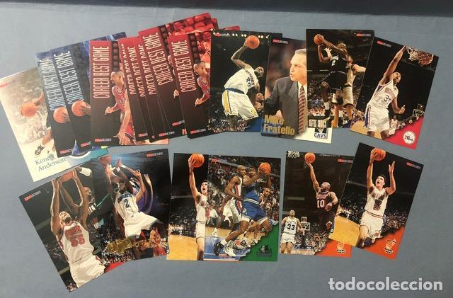 HOOPS 1996/97 NBA TRADING CARDS LOTE (Coleccionismo Deportivo - Álbumes otros Deportes)