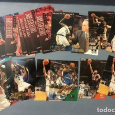 Coleccionismo deportivo: HOOPS 1996/97 NBA TRADING CARDS LOTE. Lote 267305684