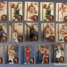 Coleccionismo deportivo: HOOPS 1997/98 TALKING HOOPS NBA TRADING CARDS INSERT LOTE. Lote 267305949