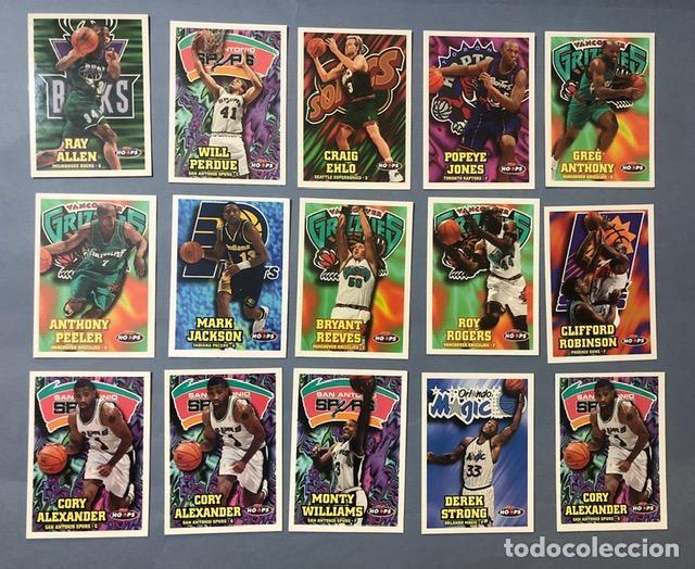 HOOPS 1997/98 NBA TRADING CARDS LOTE (Coleccionismo Deportivo - Álbumes otros Deportes)