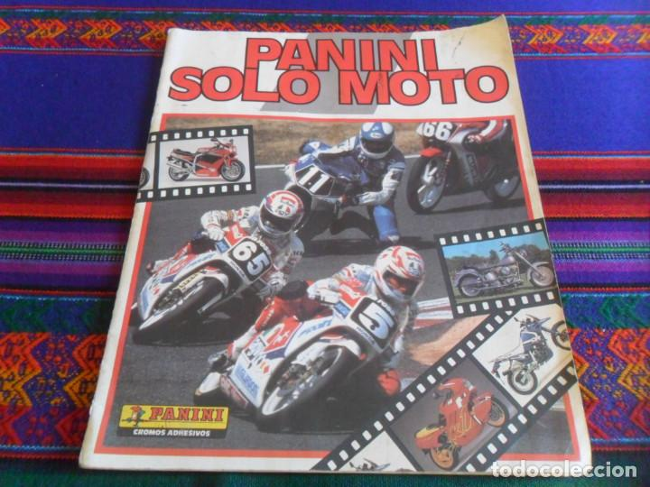 PANINI SOLO MOTO INCOMPLETO CON 119 DE 228 CROMOS. REGALO TODO MOTO INCOMPLETO CROMOS CANO 1983. (Coleccionismo Deportivo - Álbumes otros Deportes)