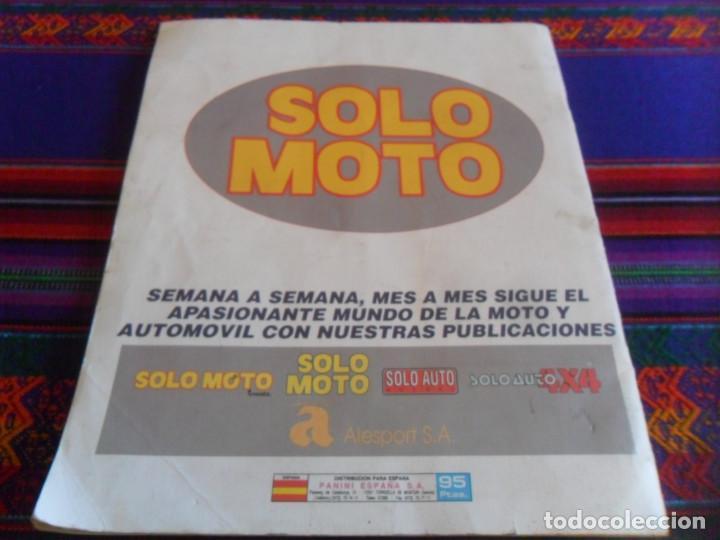 Coleccionismo deportivo: PANINI SOLO MOTO INCOMPLETO CON 119 DE 228 CROMOS. REGALO TODO MOTO INCOMPLETO CROMOS CANO 1983. - Foto 9 - 46998184