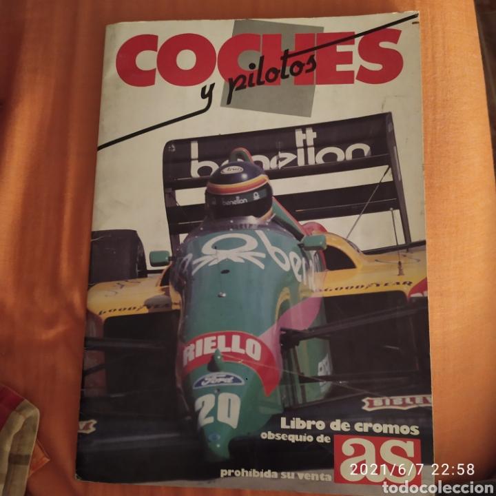 Coleccionismo deportivo: album completo coches y pilotos motos y pilotos as - Foto 2 - 267678664