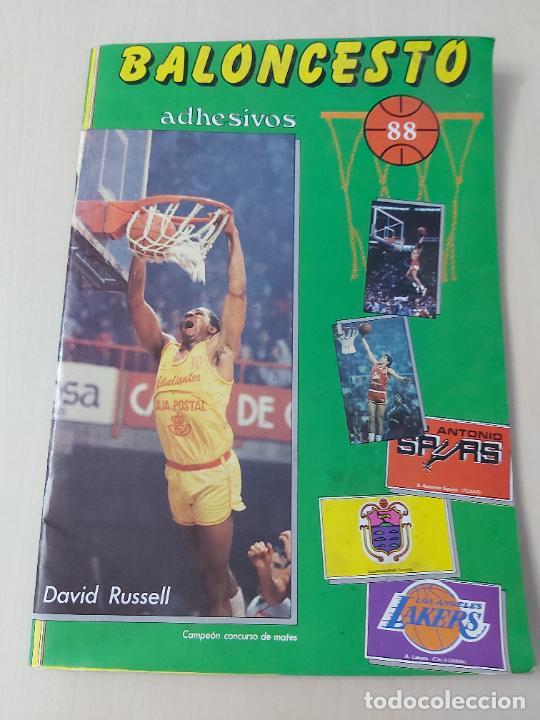 Coleccionismo deportivo: 2 CROMOS JORDAN - ALBUM BALONCESTO 88 NBA CONVERSE J. MERCHANTE FALTAN 23 DE 214 CROMOS - Foto 3 - 267885179