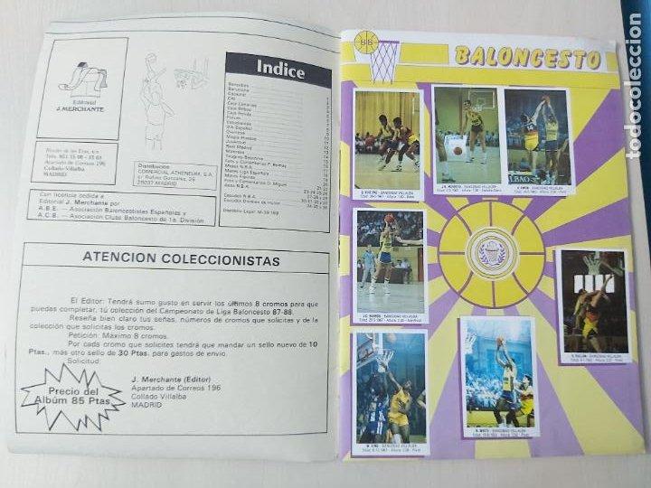 Coleccionismo deportivo: 2 CROMOS JORDAN - ALBUM BALONCESTO 88 NBA CONVERSE J. MERCHANTE FALTAN 23 DE 214 CROMOS - Foto 4 - 267885179