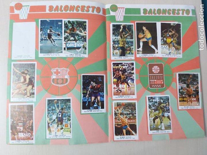 Coleccionismo deportivo: 2 CROMOS JORDAN - ALBUM BALONCESTO 88 NBA CONVERSE J. MERCHANTE FALTAN 23 DE 214 CROMOS - Foto 5 - 267885179