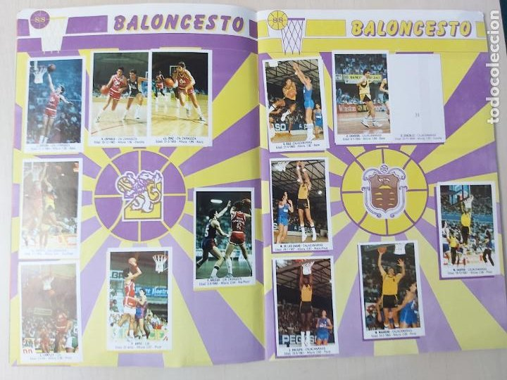 Coleccionismo deportivo: 2 CROMOS JORDAN - ALBUM BALONCESTO 88 NBA CONVERSE J. MERCHANTE FALTAN 23 DE 214 CROMOS - Foto 6 - 267885179