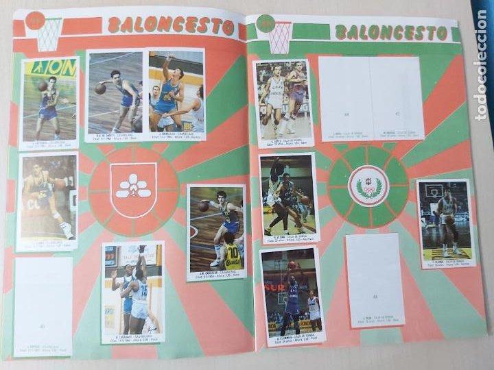 Coleccionismo deportivo: 2 CROMOS JORDAN - ALBUM BALONCESTO 88 NBA CONVERSE J. MERCHANTE FALTAN 23 DE 214 CROMOS - Foto 7 - 267885179