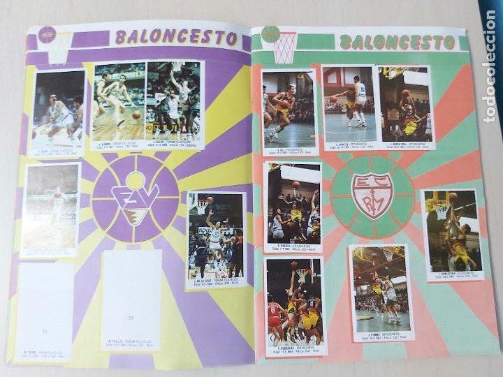 Coleccionismo deportivo: 2 CROMOS JORDAN - ALBUM BALONCESTO 88 NBA CONVERSE J. MERCHANTE FALTAN 23 DE 214 CROMOS - Foto 8 - 267885179